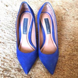 Beautiful Steven by Steve Madden leather heels
